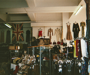 clothes, vintage, and shop image