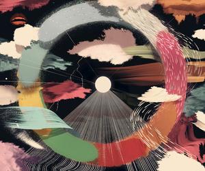 art, circle, and illustration image