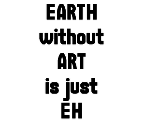quote, art, and earth image