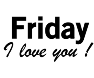 friday, weekend, and text image