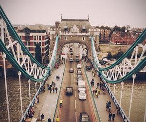 bridge, city, and car image