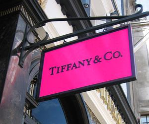 tiffany, pink, and tiffany & co image