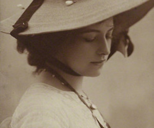 antique, girl, and hat image