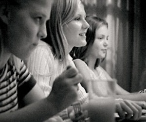 black and white and virgin suicides image