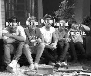 black and white, fun, and one direction image