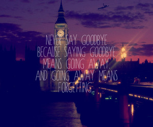 london, quote, and forget image