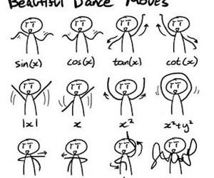 dance, math, and funny image