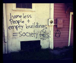 society, homeless, and quote image