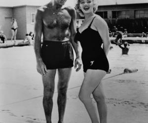 Marilyn Monroe, cary grant, and vintage image