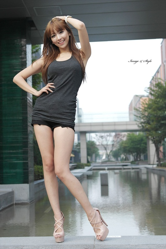 Asian girls with long legs