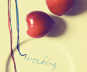 cherries, cherry, and photography image