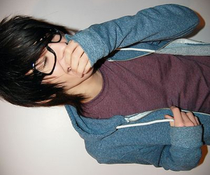 boy, glasses, and cute image