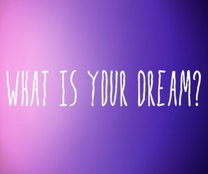Dream, what, and is image