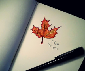 autumn, fall, and text image