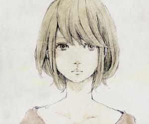 anime, girl, and cold image