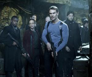 theo james, movie, and insurgent image