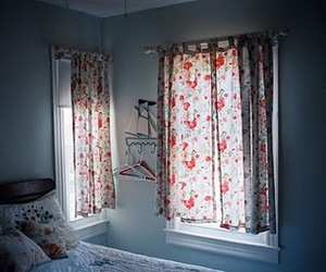 bedroom, floral, and room image