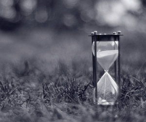 hourglass and photography image