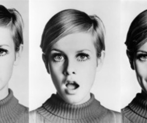 black and white, perfect, and twiggy image