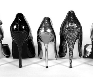 shoes, high heels, and heels image
