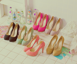 free, pretty, and high heels image