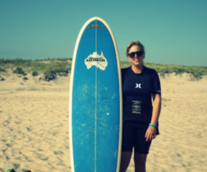 beach, surf, and surfing image