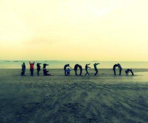 life, beach, and life goes on image