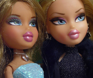 dolls, eye makeup, and girls image