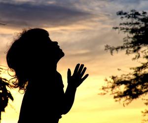 pray, child, and god image