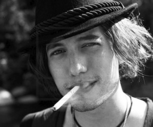 Jackson Rathbone, sexy, and black and white image