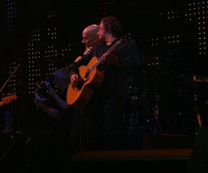r.e.m., Peter Buck, and Micheal Stipe image