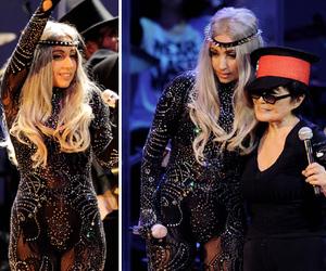 Lady gaga and Yoko Ono image