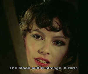bizarre, blood, and fascination image