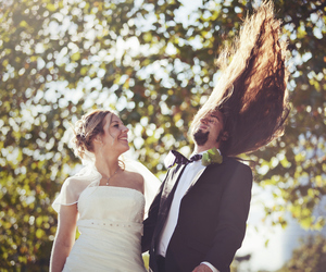 wedding, metalhead, and different image