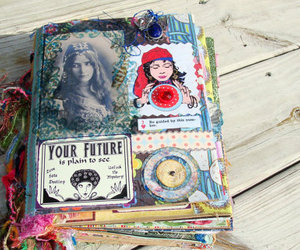 book, art, and Collage image