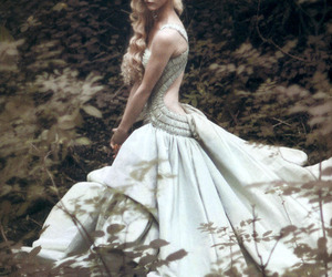 dress, model, and blonde image