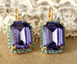 bling bling, purple, and crystal image
