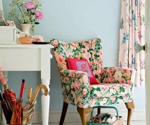 vintage, flowers, and decor image