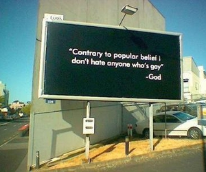 god, gay, and quote image