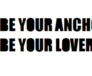 anchor, lover, and text image