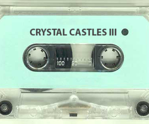 Crystal Castles, music, and cassette image
