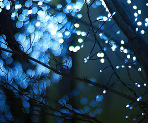 blue, lights, and beautiful image