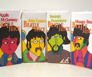 beatles, boxes, and harrison image