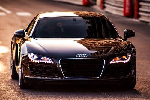Audi Beautiful Black Car Inspiring Picture On Favim Com