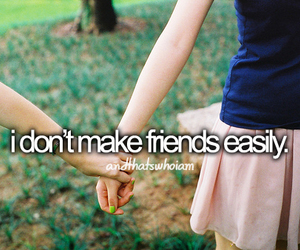 friends, quote, and text image