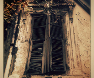 dark, mysterious, and window image