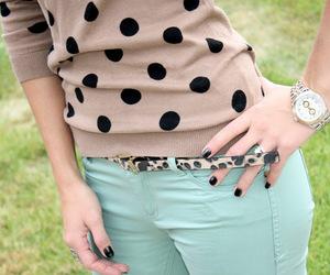 beige, belt, and mint image