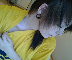 girl, hair, and suicidenotez image