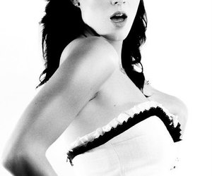 black and white, katy perry, and sexy image