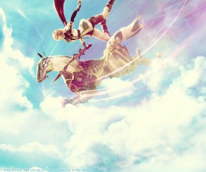 amazing, pink hair, and final fantasy xiii image